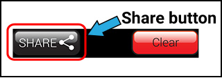 Image of the share button